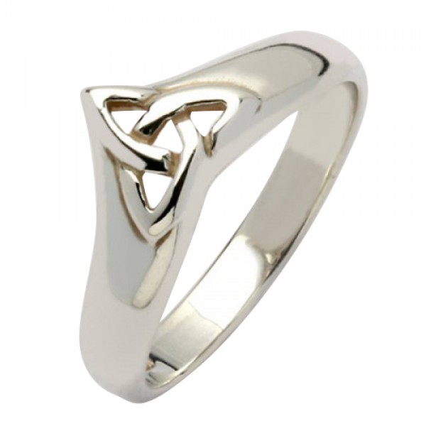 Celtic Trinity Ring - Silver Boyne Collection