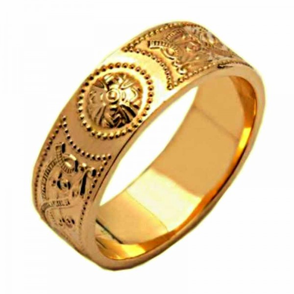 Irish Gold Wedding Ring - An Slí (The Journey) Celtic Wedding Rings