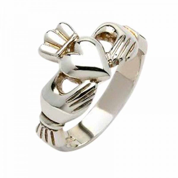 Silver Claddagh Ring - Glen Claddagh Rings