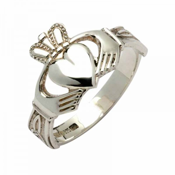 Silver Claddagh Ring - Finn Claddagh Rings