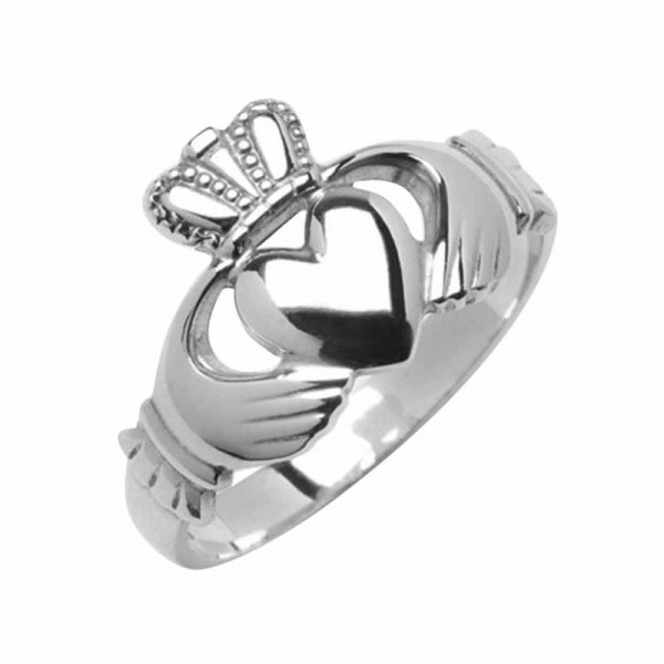 Silver Claddagh Ring - Iona Claddagh Rings