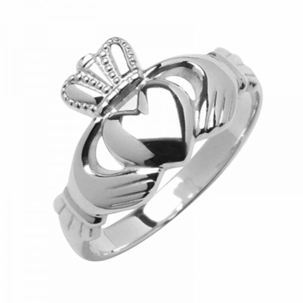 Silver Claddagh Ring - Avoca Claddagh Rings