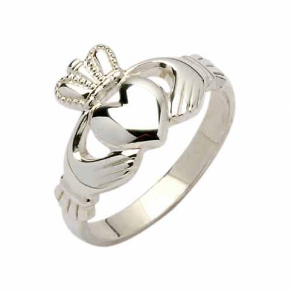 Silver Claddagh Ring - Neasa Claddagh Rings